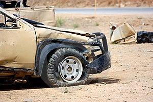 A Damaged Vehicle Stock Images - Image: 19163894