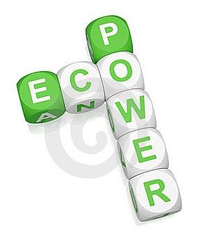 Eco Power Stock Photo - Image: 19164480