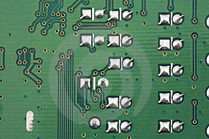 Electronic Circuit Board Royalty Free Stock Images - Image: 19165589