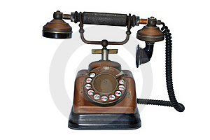 Vintage Dial Telephone Stock Images - Image: 19165774