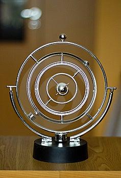 Swinging Pendulum Stock Image - Image: 19167401