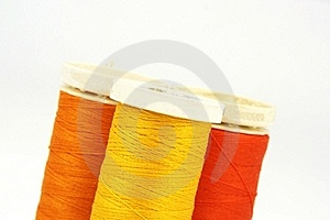 Group Of Colourful Spools Royalty Free Stock Images - Image: 19168699