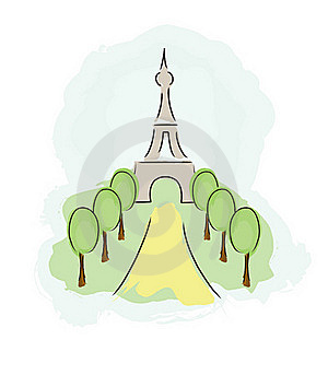 Eiffel Tower Royalty Free Stock Images - Image: 19168919