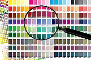 ColorChart Zoom Royalty Free Stock Photography - Image: 19171217