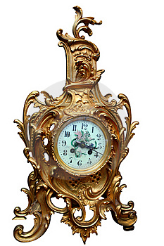 Vintage Clock Stock Images - Image: 19171464