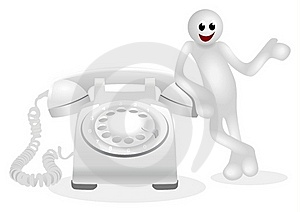 Telephone Royalty Free Stock Photo - Image: 19171865