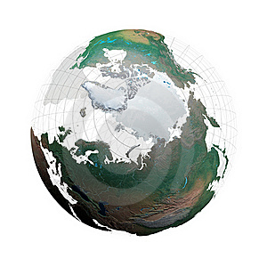 Transparent Globe With Continents And Grid System Royalty Free Stock Photo - Image: 19172295