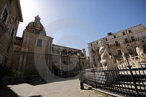 Fountain Of Shame - Palermo Stock Photo - Image: 19174030