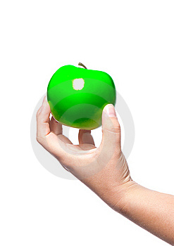 A Fresh Green Apple Stock Photography - Image: 19175052