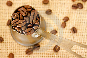 Coffee Beans Royalty Free Stock Photos - Image: 19175888