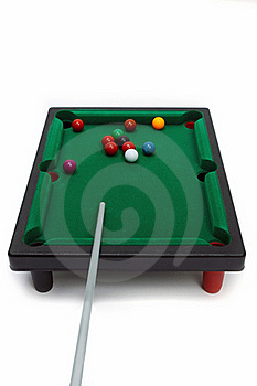 Board Game -   Snooker Royalty Free Stock Images - Image: 19177099