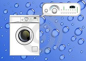 Washing Machine. Stock Photo - Image: 19177430