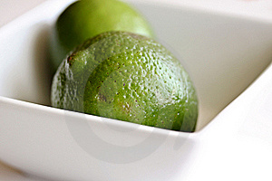 Limes In Bowl Stock Photography - Image: 19177542