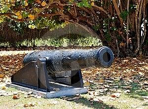 Civil War Cannon Stock Photo - Image: 19177990