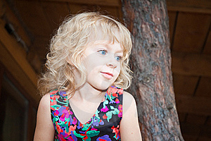 Adorable Girl On The Nature Royalty Free Stock Images - Image: 19179989