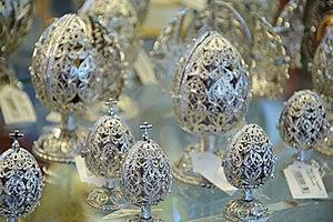 De Juweleneieren Van Pasen Royalty-vrije Stock Foto - Afbeelding: 19185025