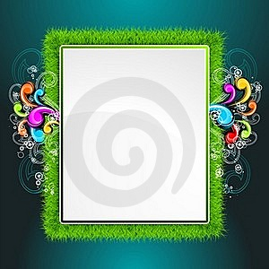 Vector Background On A Spring Theme. Stock Image - Image: 19185521