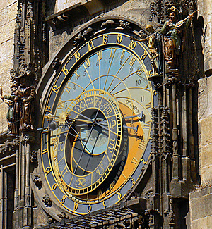 Astronomical Clock Stock Image - Image: 19185821