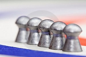 Air Gun Pellets Stock Photo - Image: 19186000