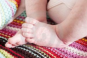 Newborn Babies Feet Royalty Free Stock Photos - Image: 19186108