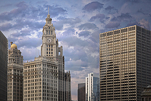 Chicago Architecture Royalty Free Stock Photo - Image: 19187885