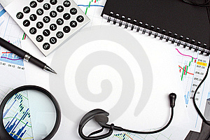 Frame With Office Accessories Royalty Free Stock Photo - Image: 19189435