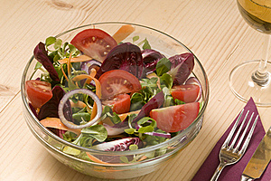 Mixed Salad Royalty Free Stock Image - Image: 19190626