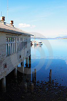 Boat House Royalty Free Stock Images - Image: 19192009