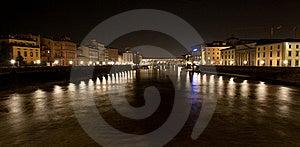 Pont Vecchio At Night Stock Image - Image: 19192821