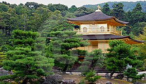 Kinkaku-ji Golden Temple Royalty Free Stock Photo - Image: 19196755
