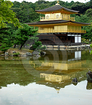 Kinkaku-ji Golden Temple Stock Image - Image: 19196831