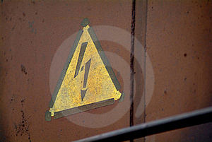 Attention Electricity Stock Image - Image: 1920691