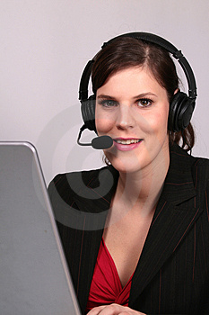 Ready For Your Call Stock Photo - Image: 1923740
