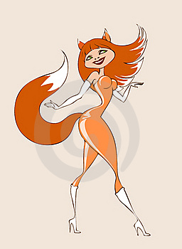 Foxy Royalty Free Stock Images - Image: 19200639