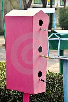 Bird House Royalty Free Stock Photos - Image: 19202138
