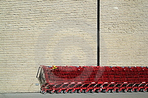 Shopping Carts Royalty Free Stock Images - Image: 19202569