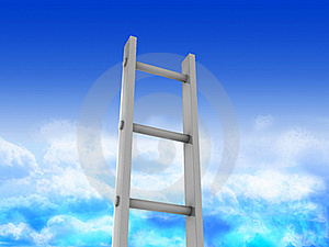Ladder In Heaven Stock Photography - Image: 19202992