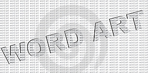 Word Art Royalty Free Stock Images - Image: 19203319