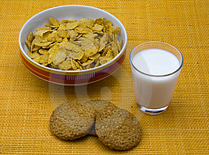 Breakfast Cereals Royalty Free Stock Photography - Image: 19205787