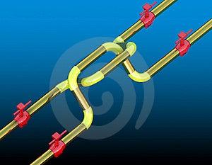 Plexus Petroleum Gas Tap Royalty Free Stock Photo - Image: 19206225