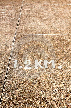 Road Distance Stock Images - Image: 19206314