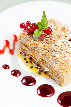 Fruit Cake Dessert Stock Photography - Image: 19206372