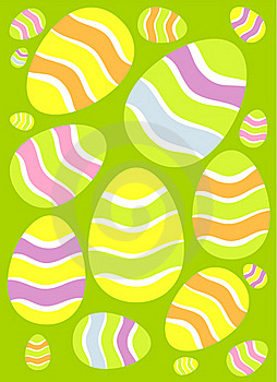 Easter Eggs Background Stock Images - Image: 19207614