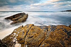 Stones In The Ocean Stock Image - Image: 19209341