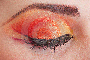 Fantastic Make Up Eye. Stock Photography - Image: 19210302