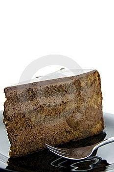 Slice Of Chocolate Cake Stock Photos - Image: 19212093