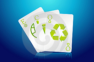 Eco Playing Card Stock Images - Image: 19213464