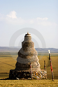 Inner Mongolia Worship Pagoda Royalty Free Stock Photography - Image: 19213617