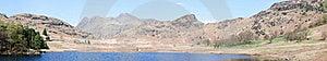 Ambleside Panorama Stock Photo - Image: 19215050