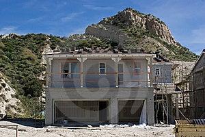 House Begin Built Royalty Free Stock Photo - Image: 19217295